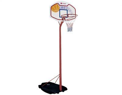 TUCSON Impianto Basket con colonna ad altezza regolabile da 195 a 260 cm e base zavorrabile
