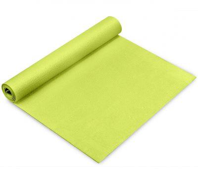 Toorx Materassino Verde Lime Specifico per Yoga con Superficie Antiscivolo - Dimensioni 173x60 cm Spessore 0,4 cm