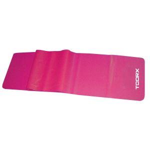 Toorx Fascia elastica latex-free colore fucsia resistenza leggera - Dimensioni 150x15 cm Spessore 0,35 mm