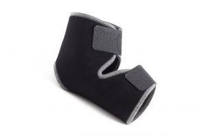 Cavigliera stabilizzante nera in neoprene, taglia unica - Fornisce supporto e stabilità a piede e caviglia