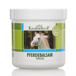 Kräuterhof Pferdebalsam barattolo 100 ml - Balsamo Cavallo con olio di Arnica e Menta Rinfrescante
