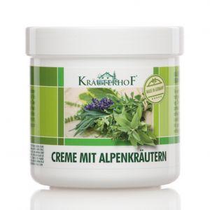 Kräuterhof Creme Mit Alpenkräutern 250 ml - Crema con erbe alpine Cura Piedi e Gambe