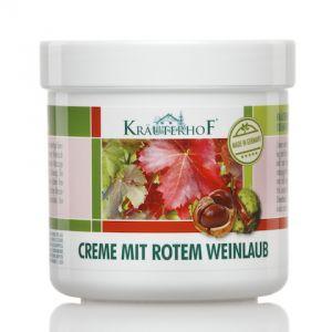 Creme Mit Rotem Weinlaub 100 ml - Crema con Estratto di Vite Rossa e Ippocastano per Piedi e Gambe