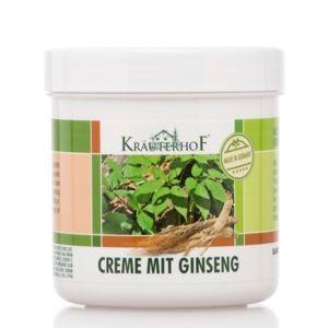 Kräuterhof Creme Mit Ginseng 250 ml - Crema al Ginseng per Pelle secca e Screpolata