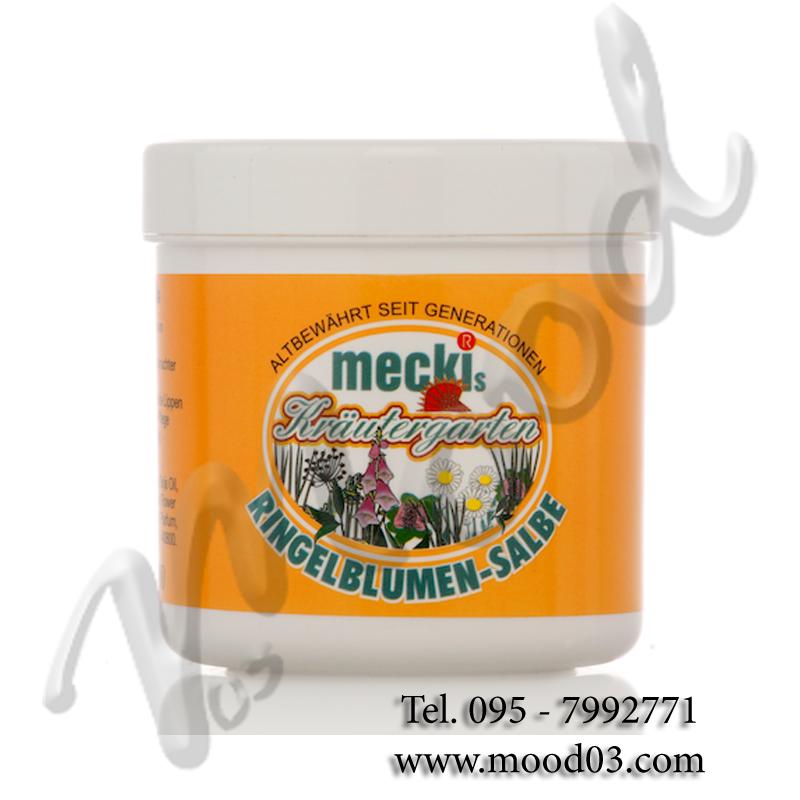 MECKIS KRAUTERGARTEN RINGELBLUMEN-SALBE Barattolo da 250 ml - POMATA ALLA CALENDULA CON VASELLINA PER LABBRA SCREPOLATE