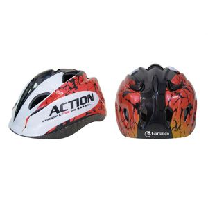 ACTION FEEL - Casco Bikers Junior taglia S, misura regolabile dal 52 al 55