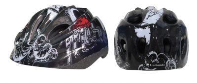 MOTOR CLUB - Casco Bikers Junior taglia S, misura regolabile dal 52 al 55