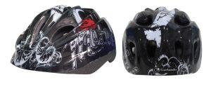 MOTOR CLUB - Casco Bikers Junior taglia XS, misura regolabile dal 49 al 51