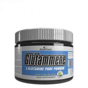 GLUTAMMENE in Barattolo da 250 g gusto NEUTRO - Integratore di Glutammina in polvere