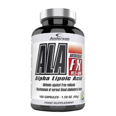 ALA-FX in flacone da 100 cps - Integratore di Acido Alfa Lipoico con Vitamina E e Coenzima Q10