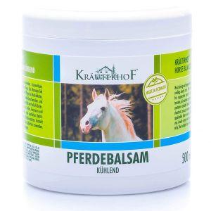 Kräuterhof Pferdebalsam 500 ml -  Balsamo Cavallo con olio di Arnica menta Rinfrescante
