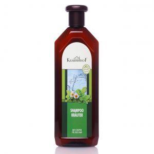 KRAUTER SHAMPOO Bottiglia da 500 ml - SHAMPOO CURANTE NATURALE ALLE ERBE CONTRO LA FORFORA, PER CAPELLI GRASSI