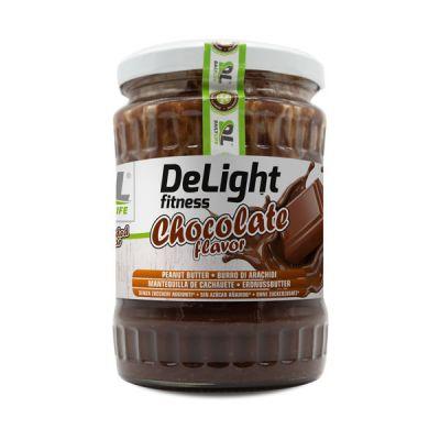 ANDERSON DELIGHT FITNESS conf 510 g - Burro di arachidi arricchito con cacao magro in polvere Cioccolato