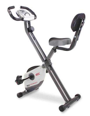 BRX-COMPACT - Cyclette compatta richiudibile salvaspazio con volano da 6 kg