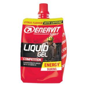 Enervit Sport Liquid Gel Competition cheerpack agrumi da 60 ml - Energetico con carboidrati, vitamina B1 e caffeina