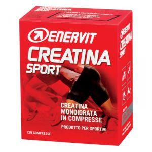 Enervit Creatina Sport, conf 120 compresse - Integratore di creatina monoidrato in compresse
