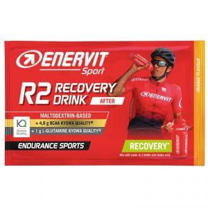 Enervit Sport R2 Recovery Drink After 50 g Arancia - Maltodextrin Based - +4,8 BCAA - +1g L-Glutamine - Endurance Sport