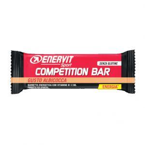 ENERVIT POWER SPORT COMPETITION Barretta da 30 g gusto ALBICOCCA - Indicata in caso di sforzo muscolare intenso