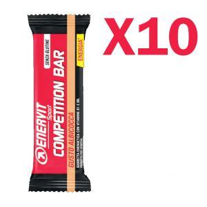 ENERVIT POWER SPORT COMPETITION Box con 10 Barrette da 30 g gusto ALBICOCCA - Utili in caso di sforzo muscolare intenso