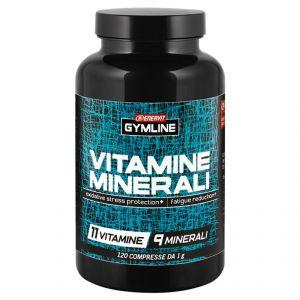 Enervit Gymline Muscle Vitamine Minerali in Barattolo da 120 cpr - Integratore Alimentare con 11 Vitamine + 9 Minerali