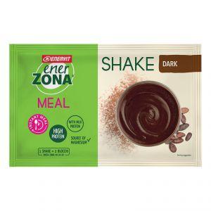 Enerzona Instant Meal 40-30-30 Shake Busta 56g Cioccolato Dark - Con Proteine e Magnesio - Senza coloranti e conservanti