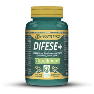 Eurosup Difese+ 60 cpr - Vitamina C Rame Zinco Supporto Difese Immunitarie