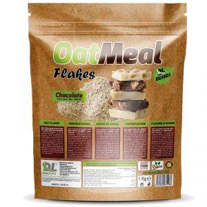 OATMEAL FLAKES in Busta da 1 kg gusto CIOCCOLATO - Fiocchi d' avena ideali per la vostra colazione e per dolci