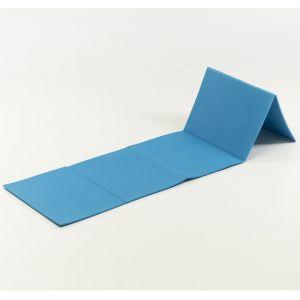 Toorx Materassino Azzurro Pieghevole in Cinque Sezioni - Dimensioni Aperto 175x50 cm Spessore 0,8 cm