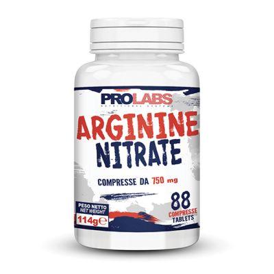 ARGININE NITRATE PROLABS Flacone 88 cpr - Integratore a base di Arginina Nitrato ideale per il Pre-Workout