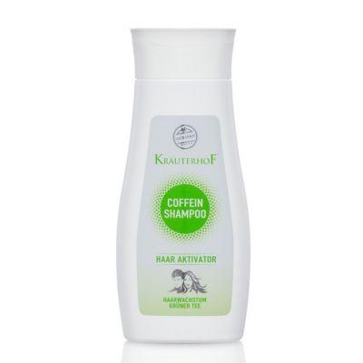 Krauterhof Coffein Shampoo Haar Aktivator 250ml Shampoo alla Caffeina 2 in 1 con attivatore ricrescita