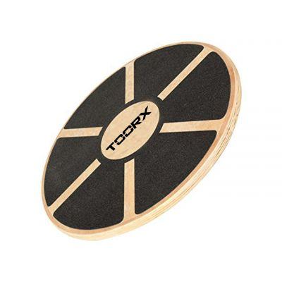 Balance Board in legno con superfice gommata antiscivolo - Diametro Ø40 cm