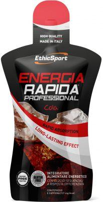 ENERGIA RAPIDA PROFESSIONAL GLUTEN FREE da 50 ml - Gusto COLA reintegra velocemente le scorte energetiche