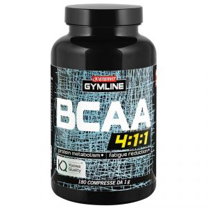 Enervit Gymline Muscle Bcaa 4:1:1 Kyowa Quality 180 compresse - Aminoacidi Ramificati con vitamine B1 e B6