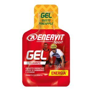 Enervit Sport Gel mini-pack da 25 ml, gusto pineapple - Energetico liquido con carboidrati e vitamine