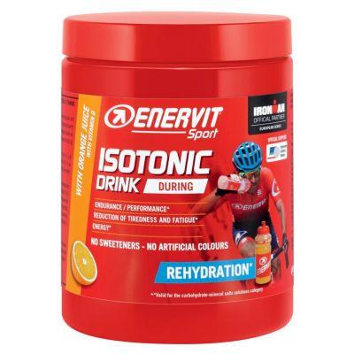 Enervit Sport Isotonic Drink Arancia, barattolo 420 grammi - Granulato per la preparazione di bevande energetiche