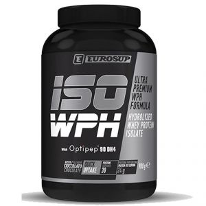 ISO WPH EUROSUP 900g CIOCCOLATO HYDROLYZED WHEY PROTEIN ISOLATE Proteine del siero di latte isolate idrolizzate Optipep®