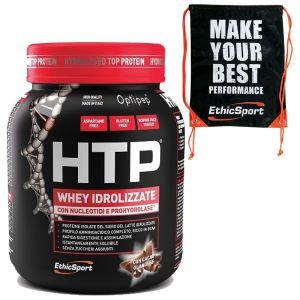 HTP HYDROLYSED TOP PROTEIN 750 grammi gusto CACAO Proteine Purissime + SACCA Ethicsport in omaggio