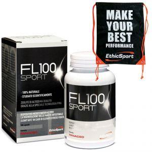 PROMO PACK ETHICSPORT - FL100 SPORT 180 CPS Zeolite di altissima qualità con Tecnologia PMA + Sacca Nero-Arancio