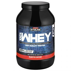 Enervit Gymline Muscle 100% Whey Protein Concentrate Cacao 900 Grammi - Proteine istantanee con Vitamina B6