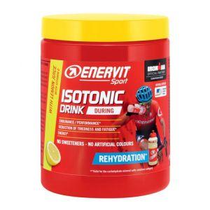 Enervit Sport Isotonic Drink Limone, barattolo 420 grammi - Granulato per la preparazione di bevande energetiche