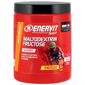 Enervit Sport Maltodextrin Fructose Arancia, conf 500 grammi - Bevanda istantanea a base di carboidrati e vitamine