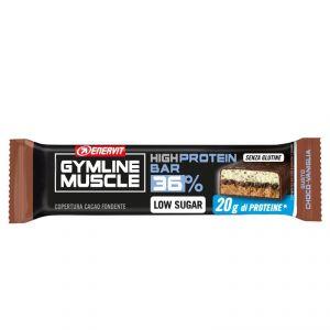 Enervit Gymline High Protein Bar 36% Choco-Vaniglia Senza Glutine - Barretta proteica da 55 grammi