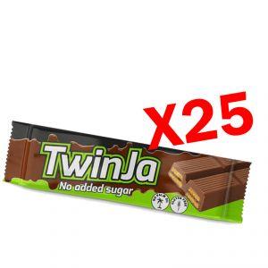 TWINJA DAILY LIFE 25 Barrette da 21,5 g a base di wafer ricoperti al cioccolato senza zuccheri aggiunti
