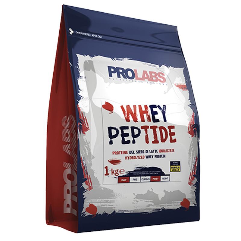 WHEY PEPTIDE PROLABS BUSTA 1 KG GUSTO CIOCCOLATO - Proteine del Siero di Latte Idrolizzate di elevata qualità
