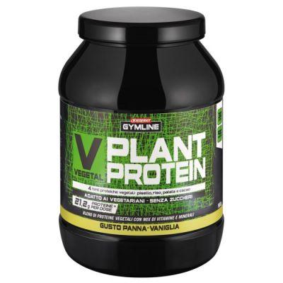 Enervit Gymline Vegetal Plant Protein Panna Vaniglia 900 gr - 4 fonti proteiche vegetali: pisello, riso, patate, e cacao