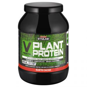 Enervit Gymline Muscle Vegetal Plant Protein Cacao 900 gr - 4 fonti proteiche vegetali: pisello, riso, patate, e cacao