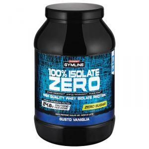 Enervit Gymline Muscle 100% Isolate Zero Vaniglia 900 g - Proteine del Siero di Latte Senza Zuccheri con Vitamina B6