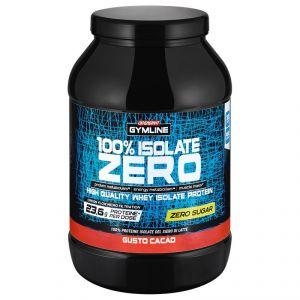 Enervit Gymline Muscle 100% Isolate Zero Cacao 900 g - Proteine del Siero di Latte Senza Zuccheri con Vitamina B6