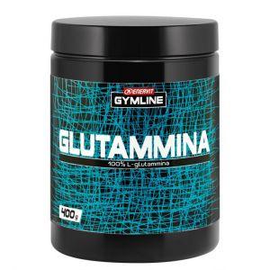 Enervit Gymline Muscle Glutammina 100% Barattolo 400 grammi - Integratore di L-Glutammina altamente solubile