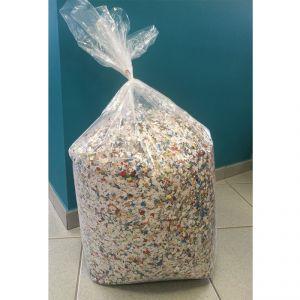 Coriandoli Colorati Multicolor di Produzione 100% Italiana - Formato Maxi Risparmio Sacco Gigante 10 kg